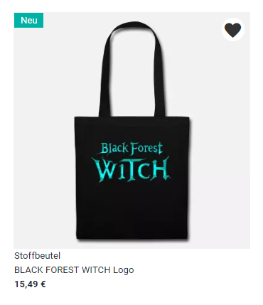 Black Forest Witch Bag