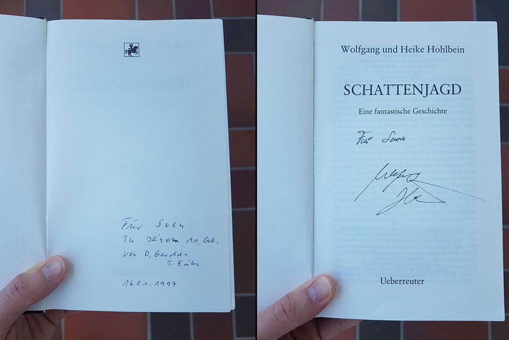 Fantasy Novel signed by the Author