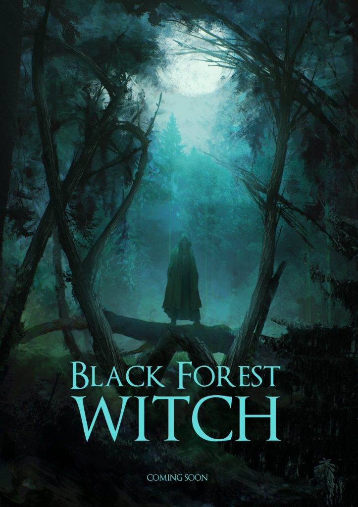 Black Forest Witch TV Show Poster Concept