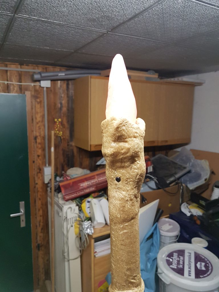Dried Worbla on our Prop