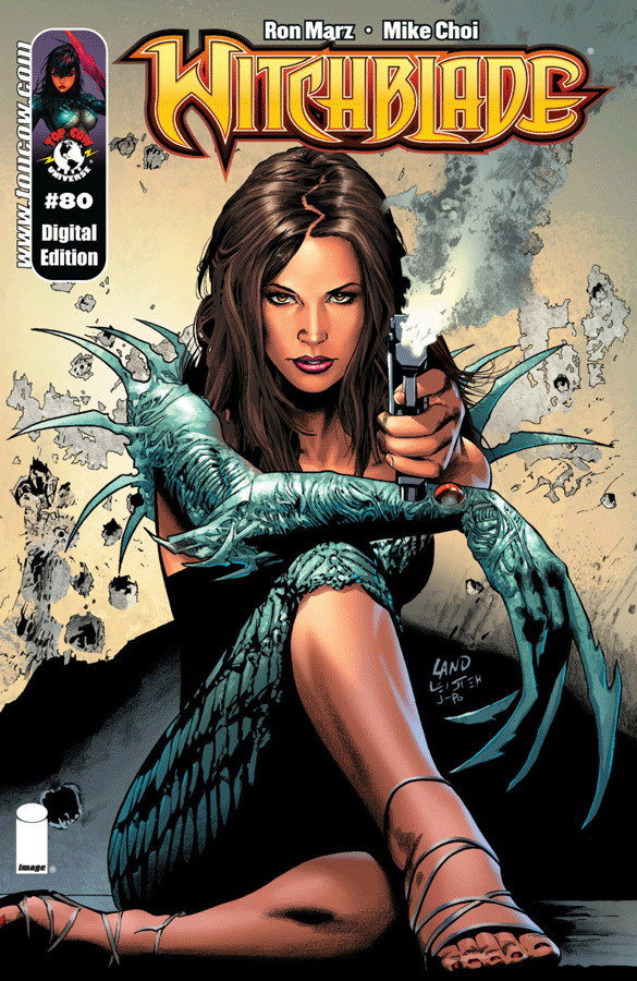 Witchblade: The Erotic Detective Fantasy Comic