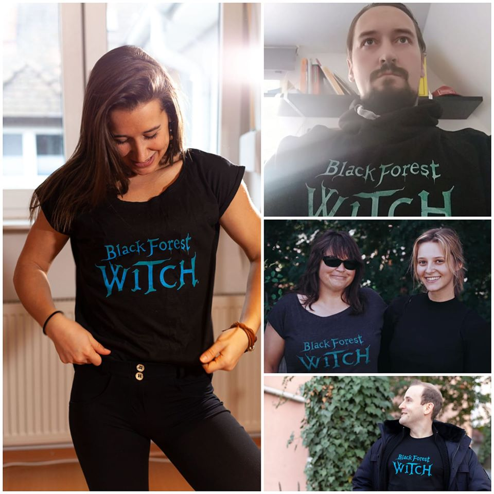 Support Black Forest Witch with a T-Shirt
